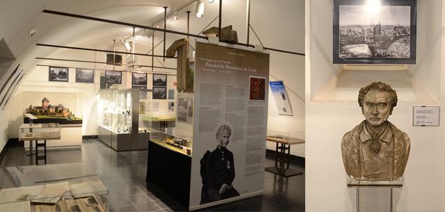 Gräfrath-Museum in den Kellerräumen des Deutschen Klingenmuseums