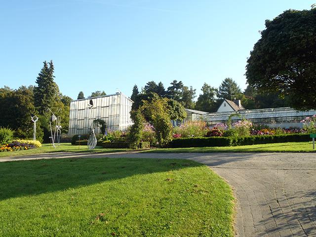 Die Schauhäuser im Botanischen Garten Solingen