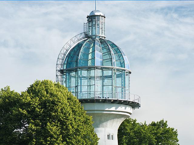 Der Lichtturm in Solingen-Gräfrath